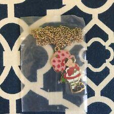 Vintage Strawberry Shortcake Necklace (1980)