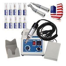 USA Dental Lab Marathon Polisher Electric Micromotor 35000 RPM Motor + 10 Drills
