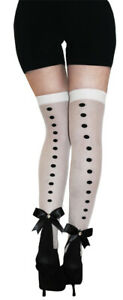 ADULT STEAMPUNK THIGH HIGHS WITH BUTTONS HOSIERY COSTUME ACCESSORY GLHA43