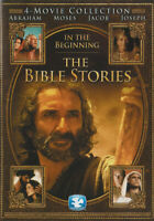 THE BIBLE STORIES - IN THE BEGINNING (4-MOVIE COLLECTION) (BROWN COVER) (K (DVD)