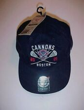 Boston Cannons 2001 Lacrosse Black '47 Brand Baseball Cap One Size New NWT
