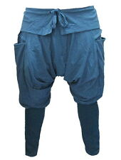 Baggy Gypsy Yog​​a Baggy Harem Drop Crotch Cargo Cotton Capris   PC193