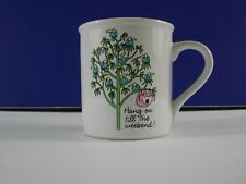 Hang on til the Weekend Hallmark Koala Bear Coffee Mug Cup Japan