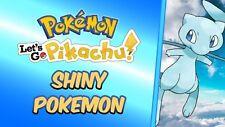 Pokemon Let's Go Shiny 6 IV Au Choix Livraison le jour même