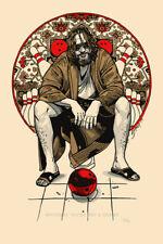 Tyler Stout The Big Lebowski Obviously Not A Golfer LE #/400 Movie Poster Mondo