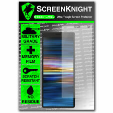 ScreenKnight Sony Xperia 10 PLUS SCREEN PROTECTOR - Military Shield