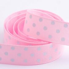 Polka Dot Grosgrain Ribbon - 15mm and 25mm - 12 Colours