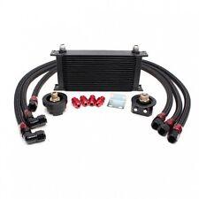 19 Row Oil Cooler Kit w/ oil filter relocation kit Fit Mazda 3Miata MX5 RX7 RX8