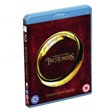 The Lord Of The Rings - The Two Towers (Blu-ray, 2012, Extended Edition)