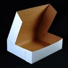 25 count WHITE 10x6x3-1/2 Bakery or Cake Box