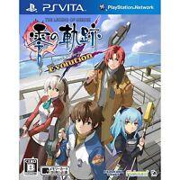 SONY PS VITA The Legend of Heroes ZERO no KISEKI Evolution Japan Import PSV Game