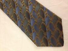 Mens Blue Brown Green Tie Necktie ~ FREE US SHIP (5007)