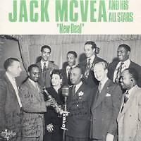 JACK McVEA New deal Sweden Press LP
