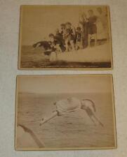 JS JOHNSTON BRIGHTON BEACH LADIES SWIMMINING RACE PHOTO