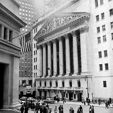 Bull Market Vintage Photography New York Stock Wall Street Print Poster 12x12