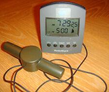 RadioShack Atomic Clock Controlled w/Travel Alarm #63-970; works 100%