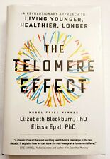The Telomere Effect Elizabeth Blackburn Elissa Epel 2017 Signed Hardcover 3-SHIP