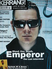 KERRANG 876 - EMPEROR/SYSTEM OF A DOWN/MUSE/TOOL/MIKE PATTON/ADEMA/REFUSED