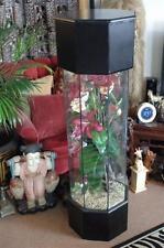 Vintage Pedestal Corner Unit / converted Fish Tank…  beautiful Floral Display...