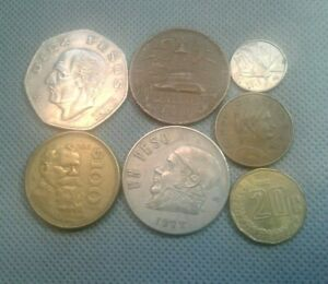OLD COINS  World/Foreign  coins 1963+ MEXICO 7 Coin Lot!!! *COLLECTIBLES*