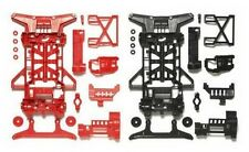 Tamiya 95242 1/32 JR Mini 4WD Parts Super X Reinforced Chassis (Black/Red)