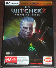 PC CD. The Witcher 2 Assassins of Kings. Version 2.0
