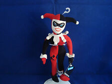 "WARNER BROS STUDIO STORE-HARLEY QUINN-10""-BEAN PLUSH-JESTER OUTFIT-NEW/TAGS-COOL"