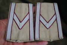 WW2 Polish slip on patches Sergeant