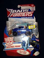 TRANSFORMERS ANIMATED Deluxe Autobot Sentinel Prime New Misb