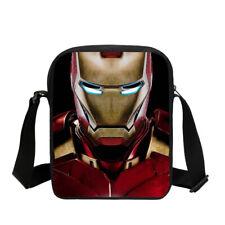 Iron Man 3D Print Cross-body Bags Outdoor Crossbody Bag For Mens Messenger Bag