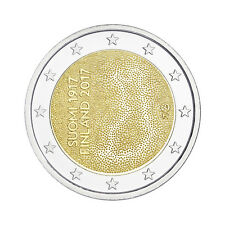 "Finland 2 Euro commemorative coin 2017 ""Indenpendence"" - UNC"