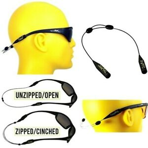 "CABLZ ZIPZ Universal 14"" Adjustable Black Sunglass Eyewear Retainer"