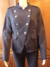Veste Blaser ORCELLY Style Officier Noir & Martingale, T.40 - EXCELLENT ETAT