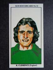 The Sun Soccercards 1978-79 - Ray Clemence - England #32