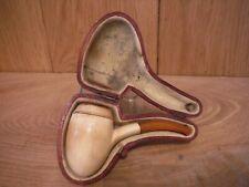 Meerschaum Clay pipe in case (MM2)