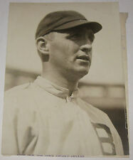 Antique 1914 BILL JAMES Boston Braves BASEBALL All Star Pitcher Press Photograph