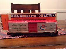 lionel train 6--9491 1986 Christmas car mib