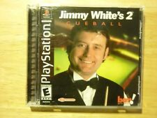 Jimmy White's 2: Cueball Playstation PS1 **COMPLETE** *CIB**