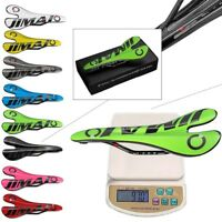 MTB Bicycle Seat Saddle Carbon Fiber Fit Mountain Bike Cycling Road  Multi-Color