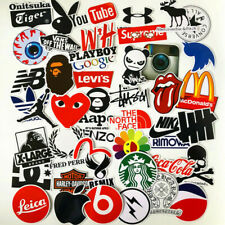 100 Trick skull stickers Hip-hop graffiti art skeleton totem PC Vinyl decals