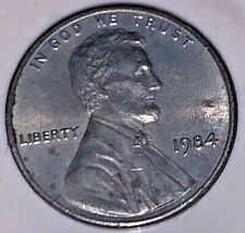1984 Lincoln Penny with Copper Clad Stripped