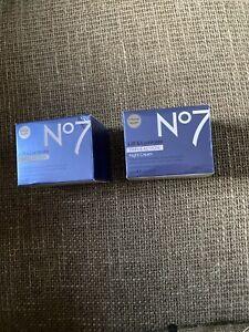 No 7 Lift & Luminate Triple Action Night Cream 50 Ml X 2 New