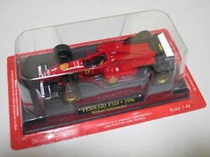 Ferrari F1 F310 1996 #1 Michael Schumacher IXO 1/43 Scale