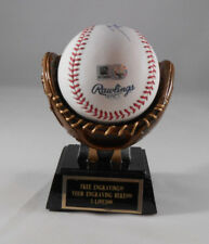 Baseball Home Run Glove Trophy Ball Holder Display -Free Engraving!