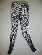 Pantalones para barbie fashionistas, Fashion Royalty model muse negro estampadas top!
