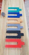 Sortiment 192 x Kst. Distanzklötze Unterlegkeile Ausgleichsklötze farbig 1-6 mm