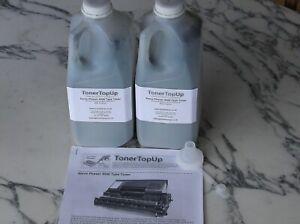 Two Bottles of Toner Refill Brother HL-8050N TN-1700 Epson EPL-N3000 C13S051111
