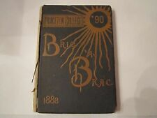 1888 PRINCETON COLLEGE YEARBOOK - SPECTACULAR FIND - BELONGS IN A MUSEUM - AMA