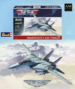 Top Gun Maverick - Revell Kit Modellismo 1/48 - F-14A Tomcat - Nuovo / Conf.