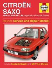 Citroen Saxo Owners Workshop Manual by Haynes Publishing (Paperback book, 2016)